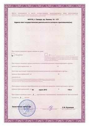 Фармацевтическая лицензия - стр. 2
