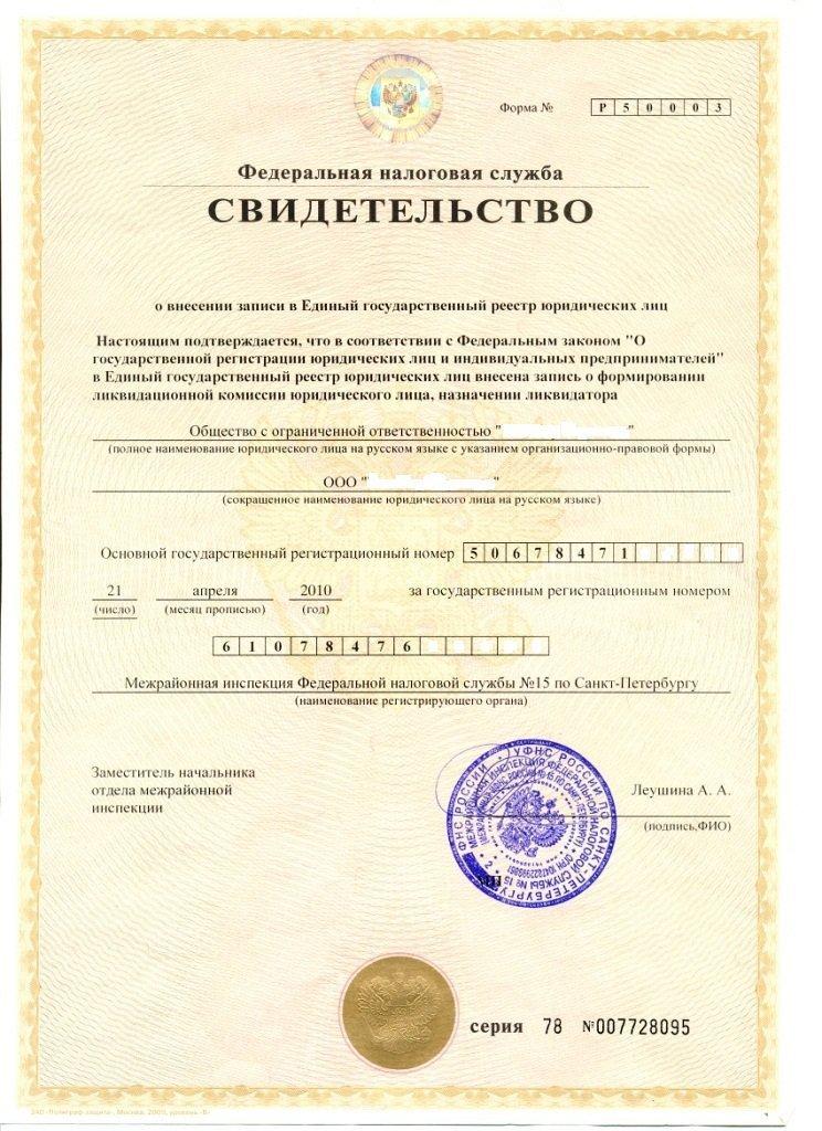 документы для налоговой при ликвидация юридического лица наставник, все